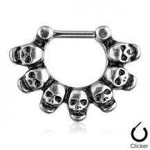 PIERCE NAS - SEPT - SKULL